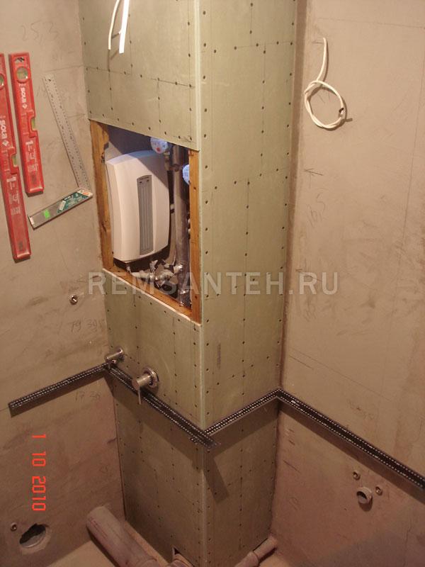 Как сделать дверцу в туалете для доступа к стояку своими руками 90