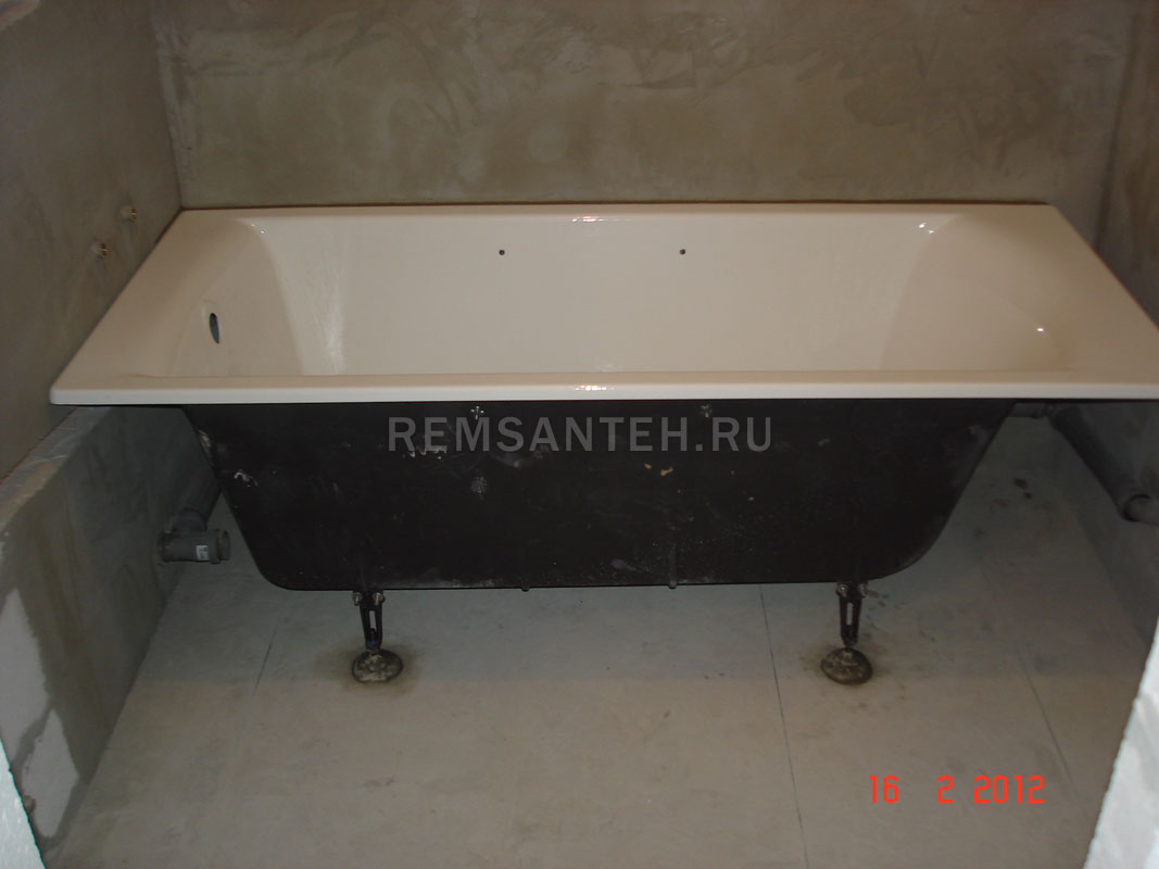 полиэстера будет высота акриловой ванны от пола после установки термобелье