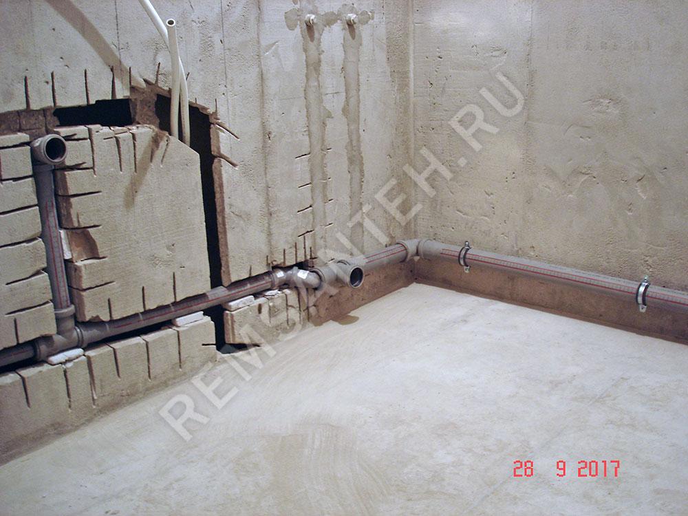 Штробление стен бетон завод бетона ростов на дону