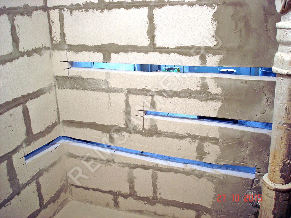 как повесить шкаф на газосиликатную стену