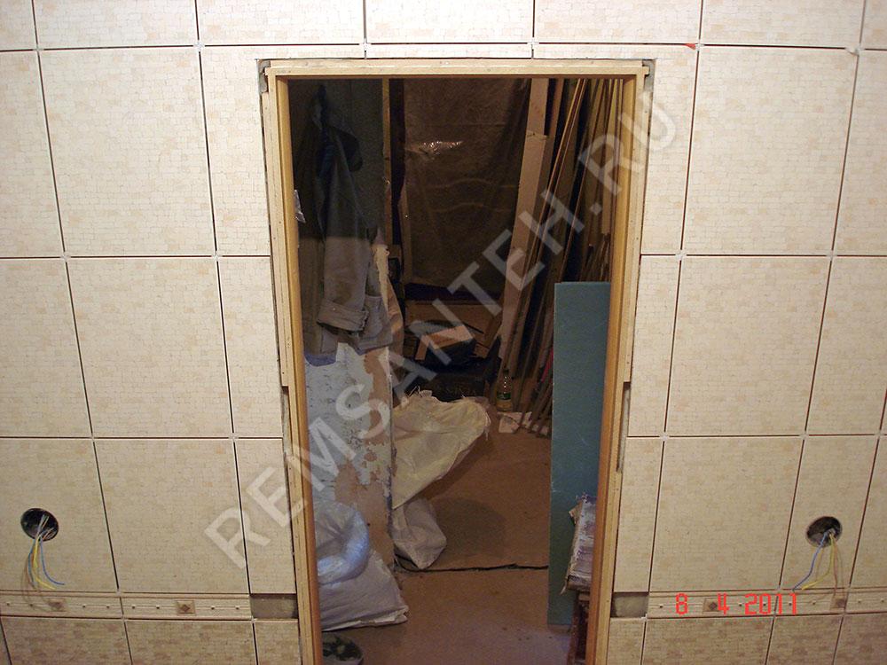 Дверь в ванную комнату и туалет установка своими руками